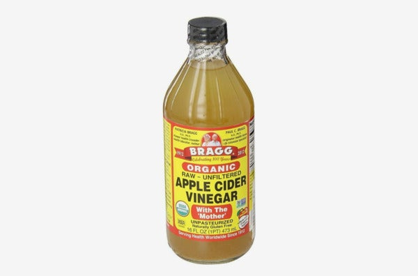 Bragg's Organic Raw Apple Cider Vinegar.