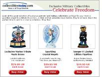 Semper Fi Edition Limited Figurines and Faithful Fuzzies Salutes the Navy