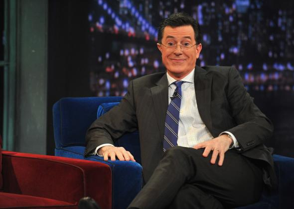 Stephen Colbert visits Fallon