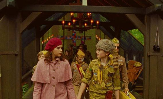 Wes Anderson's Moonrise Kingdom.