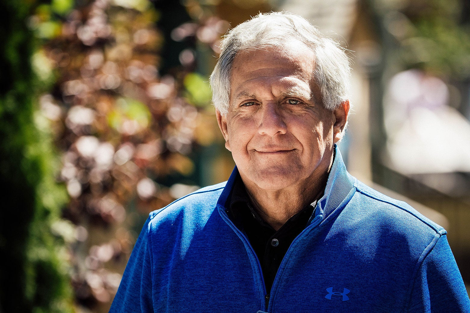 CBS executive Les Moonves.