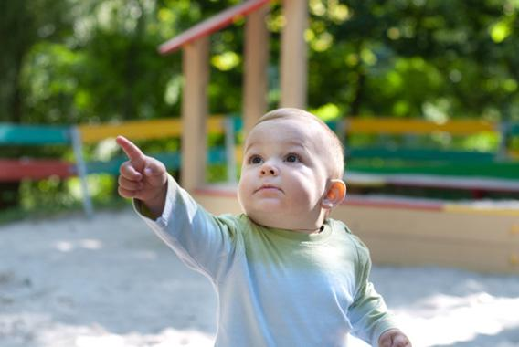 What does it mean when a baby points?