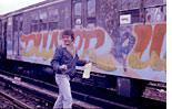 The No. 6 train yard, in the Bronx