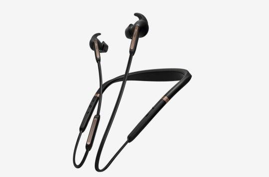Jabra Elite 65e Wireless Noise Cancelling In-Ear Headphones.