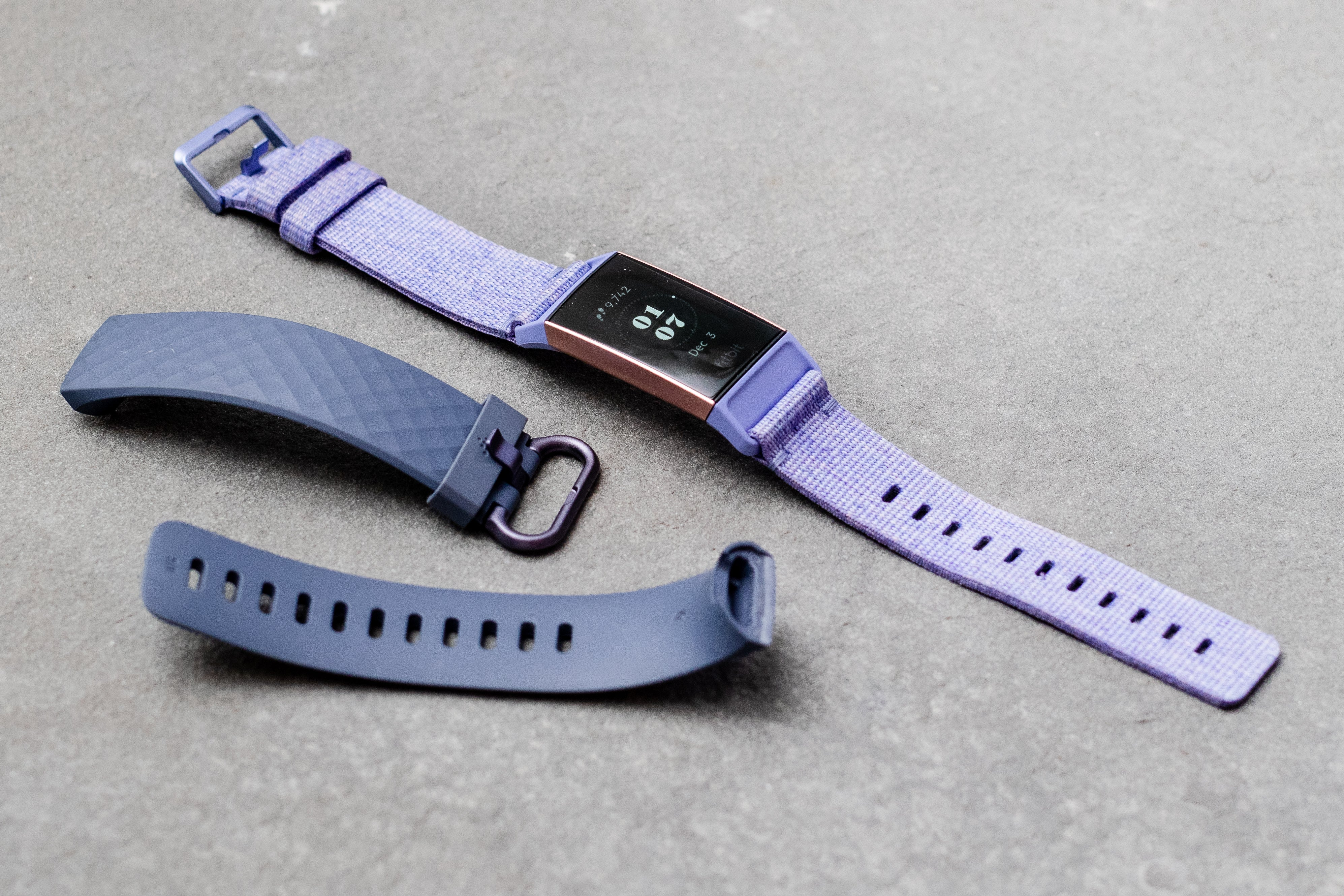 Fitbit Charge 3 with alternate wristband