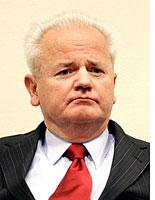 Milosevic on trial          Click image to expand.