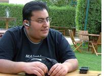 Saudi blogger Raed al-Saeed. Click image to expand