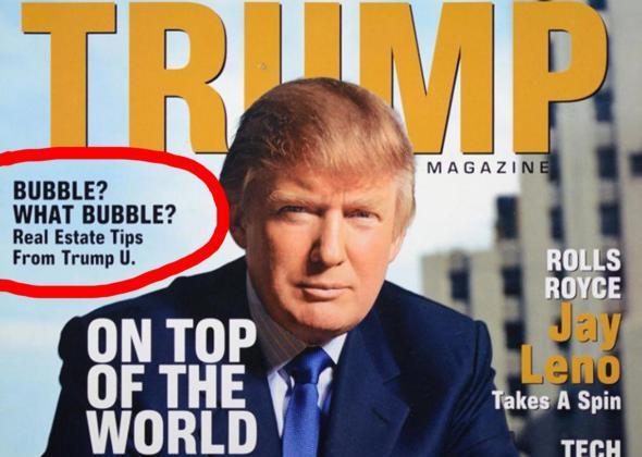 trump magazine.