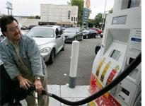 Lines at the pump