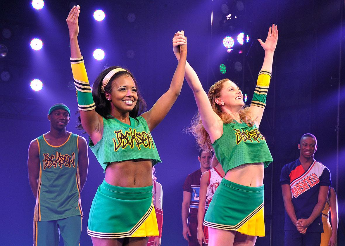 """""""Bring It On: The Musical"""" Broadway."""