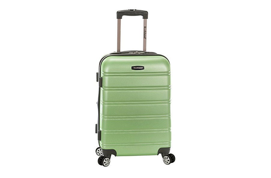Rockland Melbourne 20-Inch Expandable Abs Carry On Luggage.