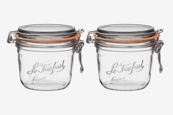Le Parfait Super Terrine Wide Mouth Jar, 2-pack