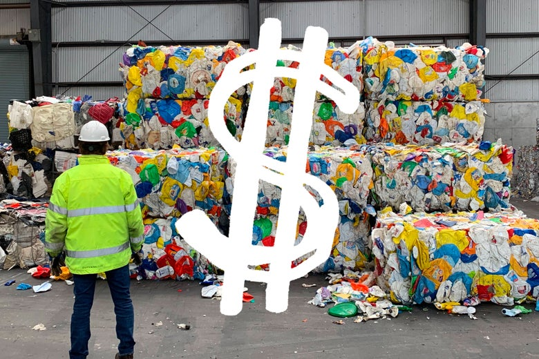 Recycling isn't about the planet  It's about profit
