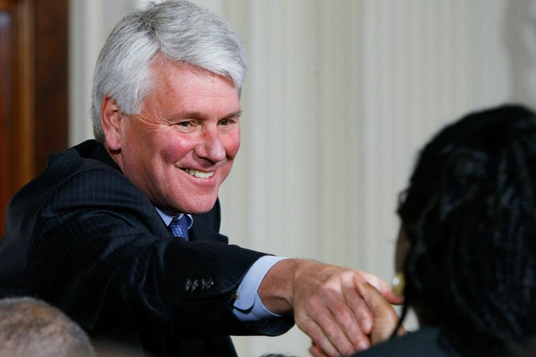 Then–White House counsel Greg Craig in the White House on May 26, 2009 in Washington.