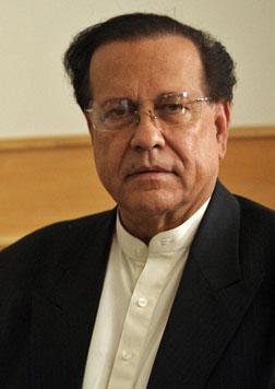 Pakistani Punjab governor Salman Taseer in August 2010.