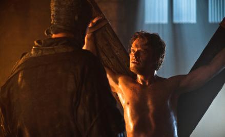 Alfie Allen as Theon Greyjoy.