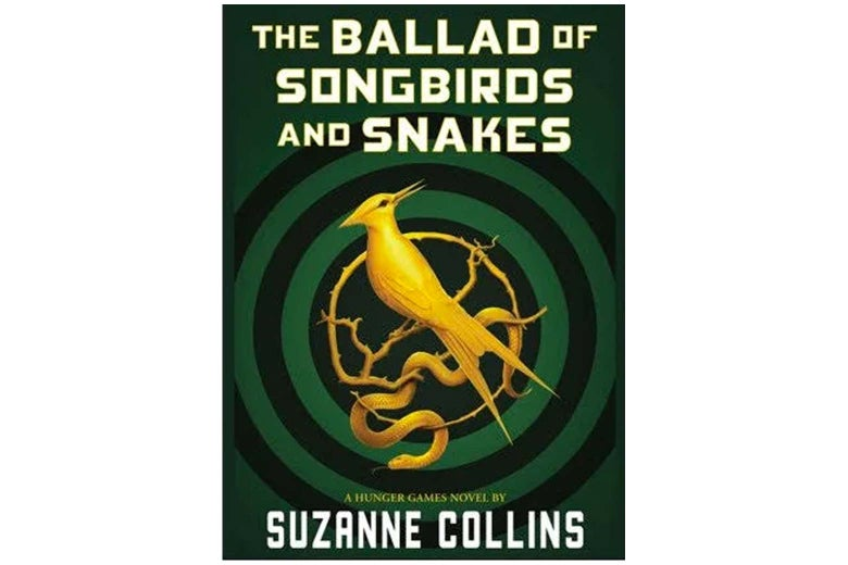 The cover of The Ballad of Songbirds and Snakes