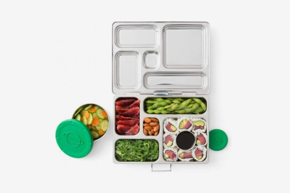 PlanetBox Rover Eco-Friendly Stainless-Steel Bento Lunch Box.