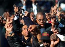 Participants in the Million Man March