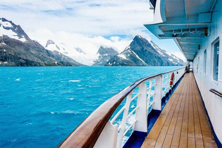 Antarctic Cruising still