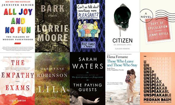 The Top 10 Books of the Year