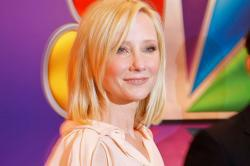 Actress Anne Heche attends NBC's Upfront Presentation at Radio City Music Hall on May 14, 2012 in New York City.