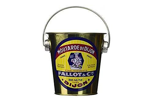 Mustard in a pail.