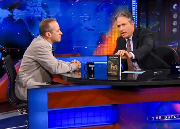 David Sedaris appears on The Daily Show with Jon Stewart