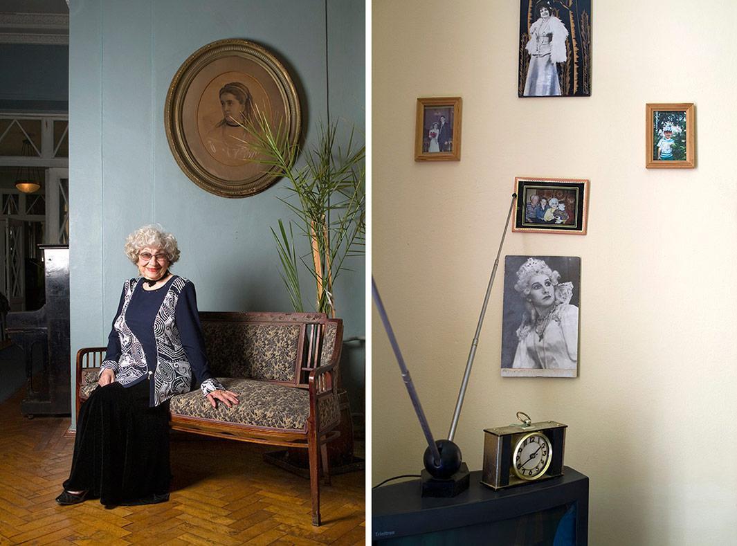 Bazlova Lyubov Stepanovna, born 1923.