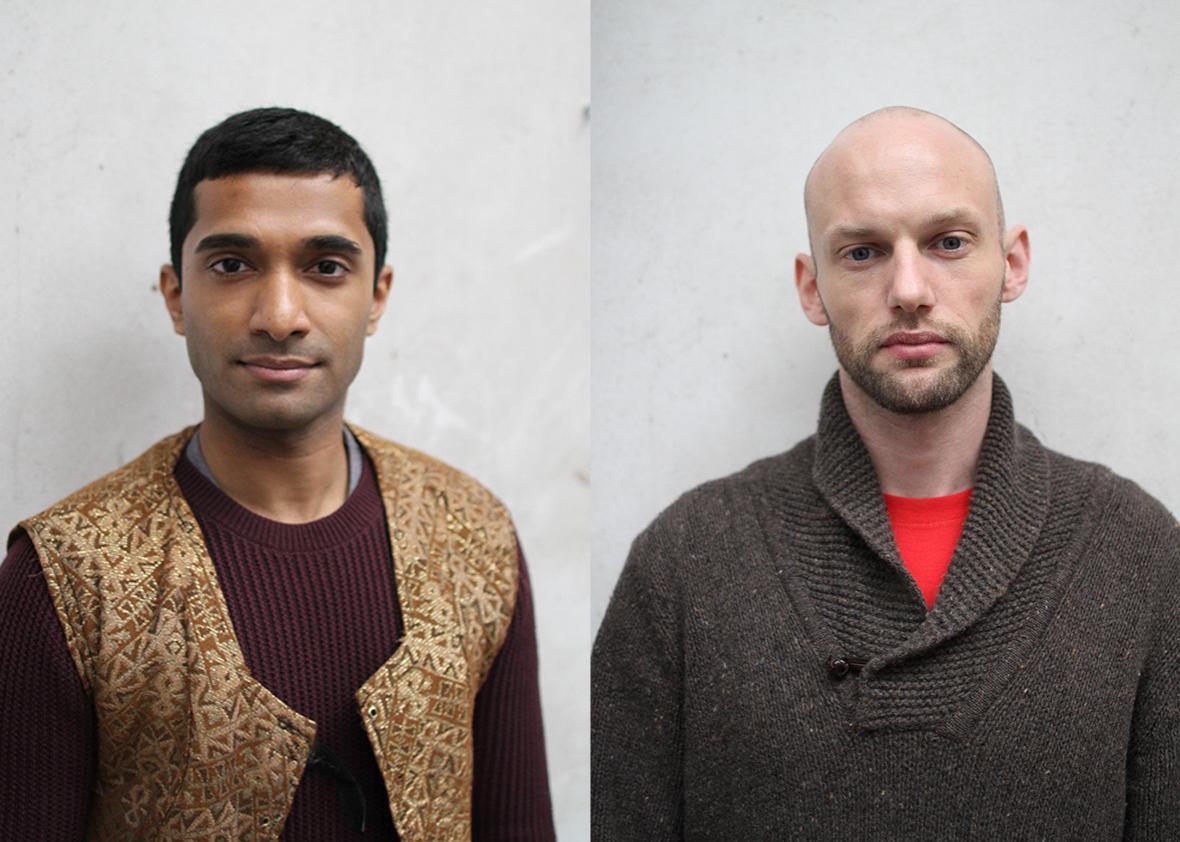 Danny Ashok and Gareth Kennerley.