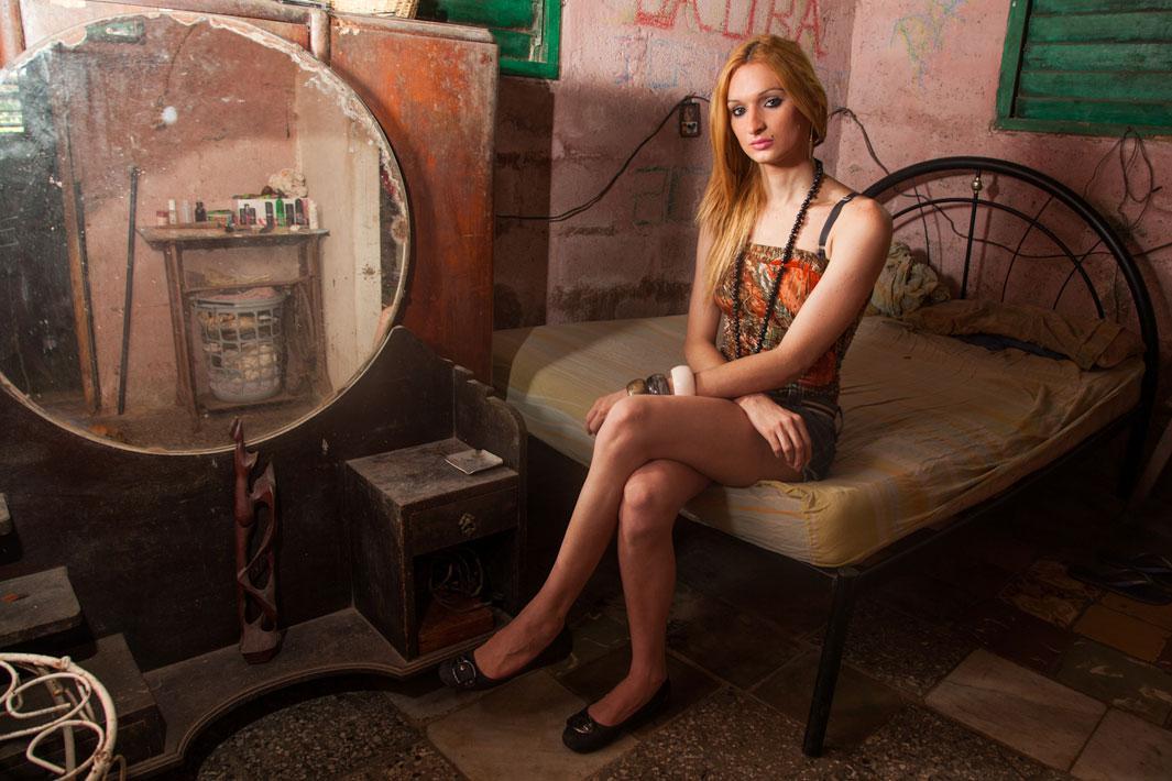 Laura at home, Havana