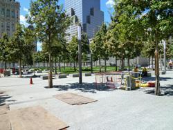 The memorial park.