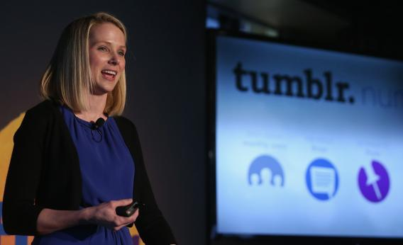 Marissa Mayer has no plans to crack down on Tumblr's NSFW content.