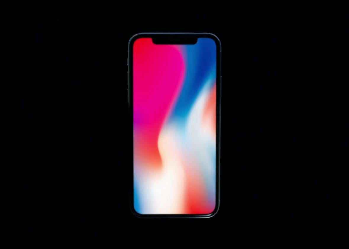 The Iphone X Is A Lava Lamp