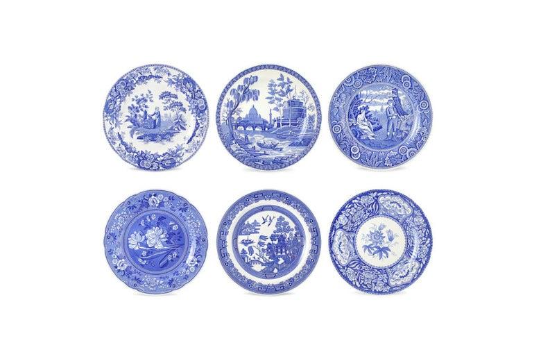 Spode Blue Room Georgian Plates