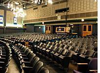 The auditorium at Francis Parker