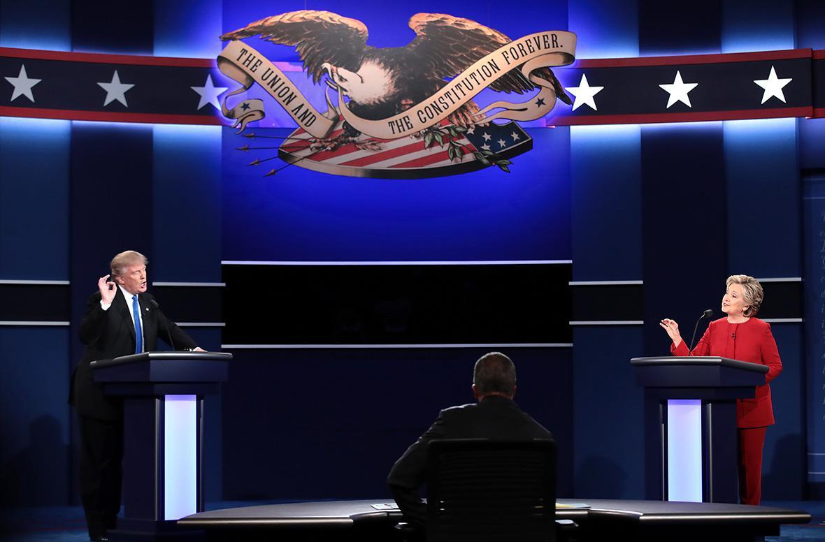 Trump Clinton debate 1