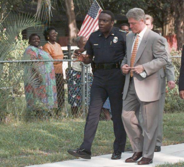 high-crime area of Jacksonville, FL.