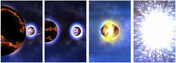 Neutron stars merging can also create a GRB.