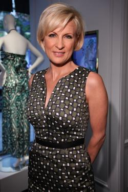 190543af1baf3 Mika Brzezinski attends the opening of the Milly Madison Avenue boutique in  May 2011.