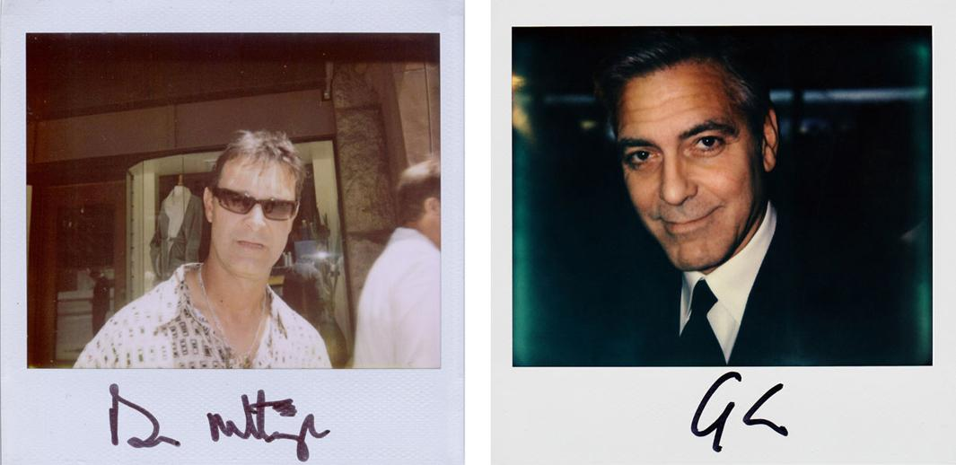 Left: Don Mattingly Right: George Clooney