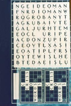 Criss-Cross Words, Alfred Butts' prototype for Scrabble.