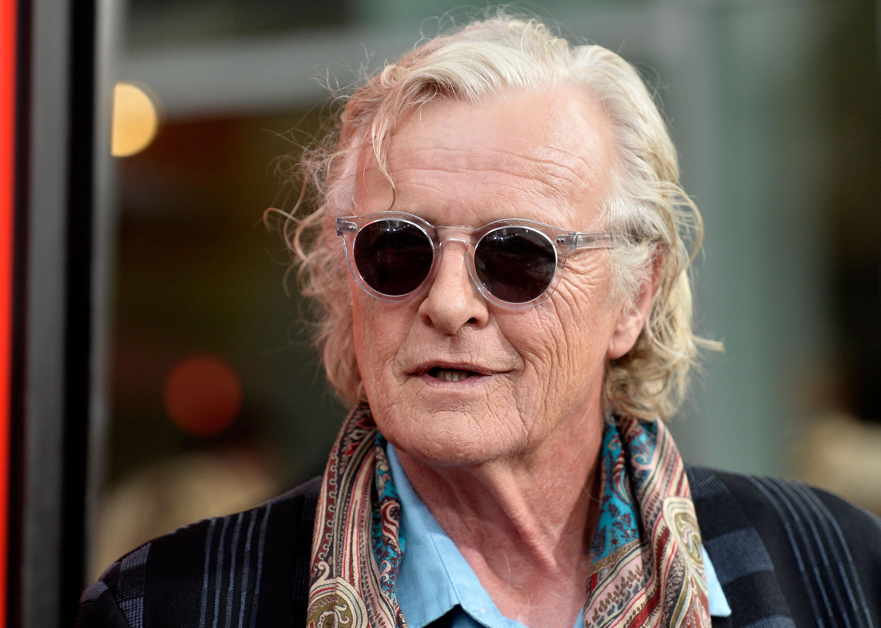 Rutger Hauer attends the premiere of HBO's 'True Blood' Season 6 in 2013.