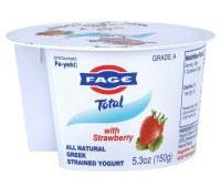 Fage Yogurt.