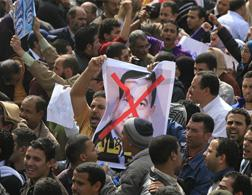 Egyptian protest. Click image to expand.