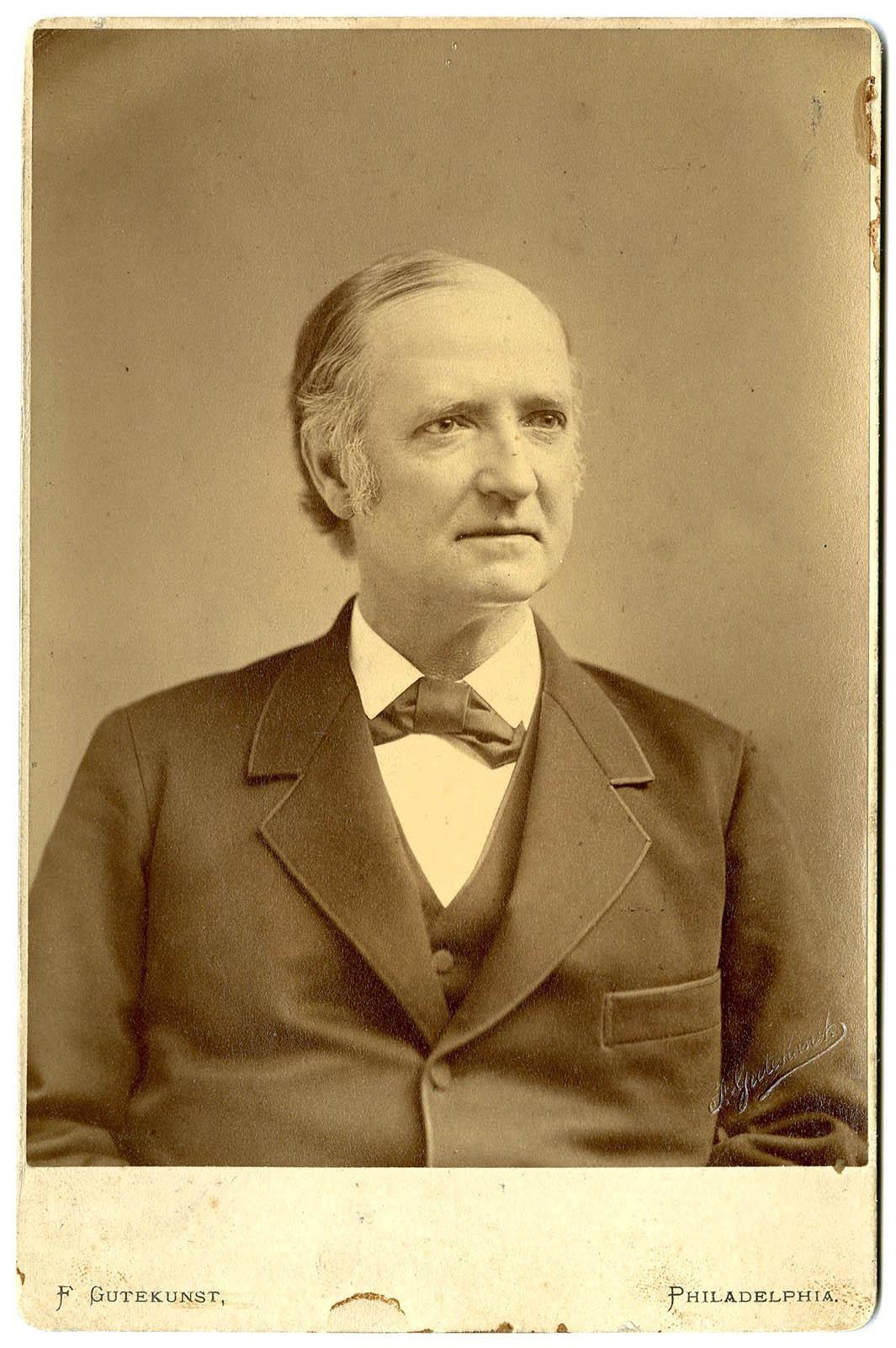 Theophilus Parvin.