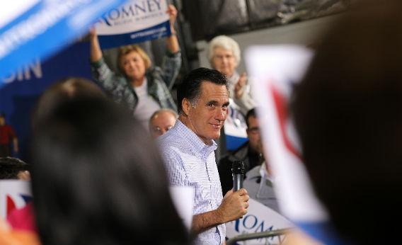 Mitt Romney in Wisconsin.