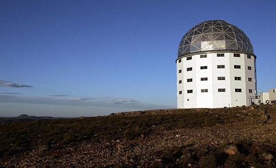 The SALT (Southern African Largest Telescope).