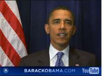 Barack Obama. Click image to launch video.