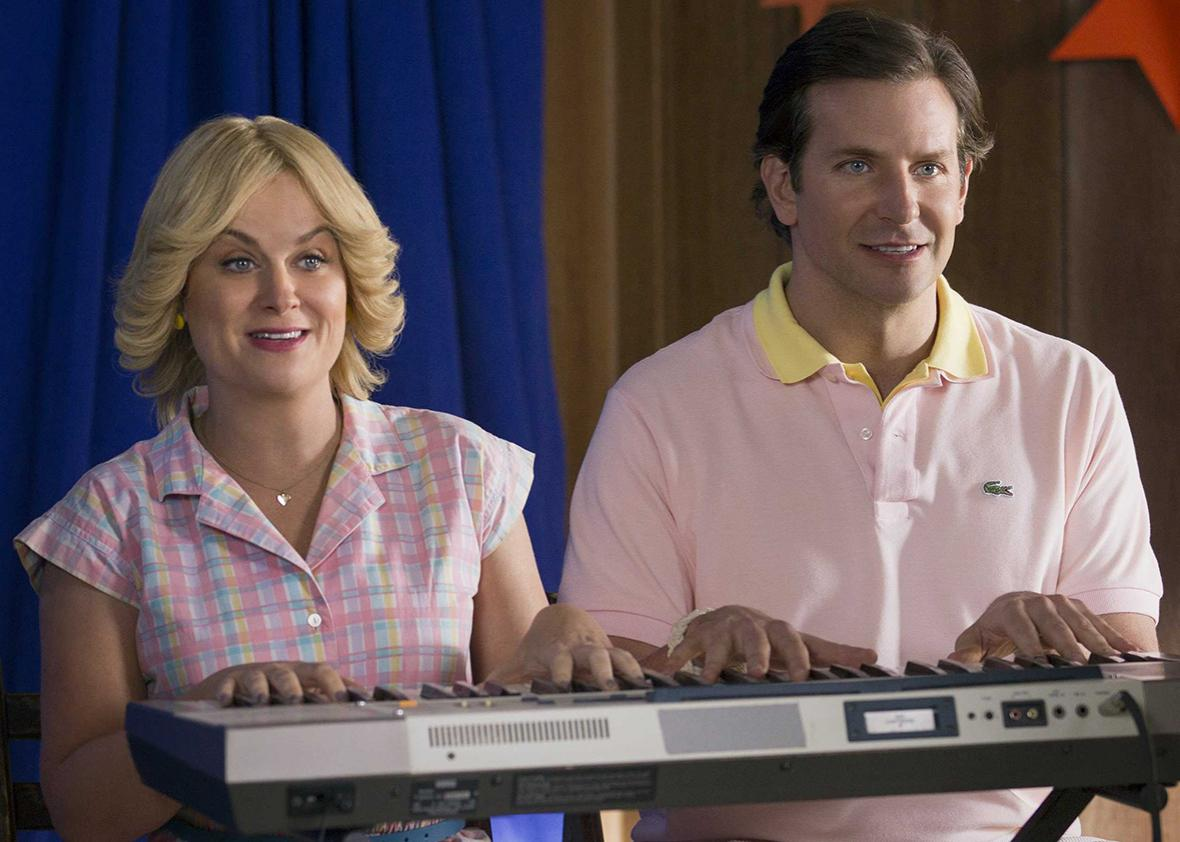 Amy Poehler and Bradley Cooper in Wet Hot American Summer: First Day of Camp.